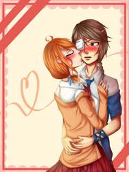[Seika] Akiyo - Kiss on cheek by AriaPN