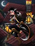 [Ez] Assassin au clair de lune - Seren by AriaPN