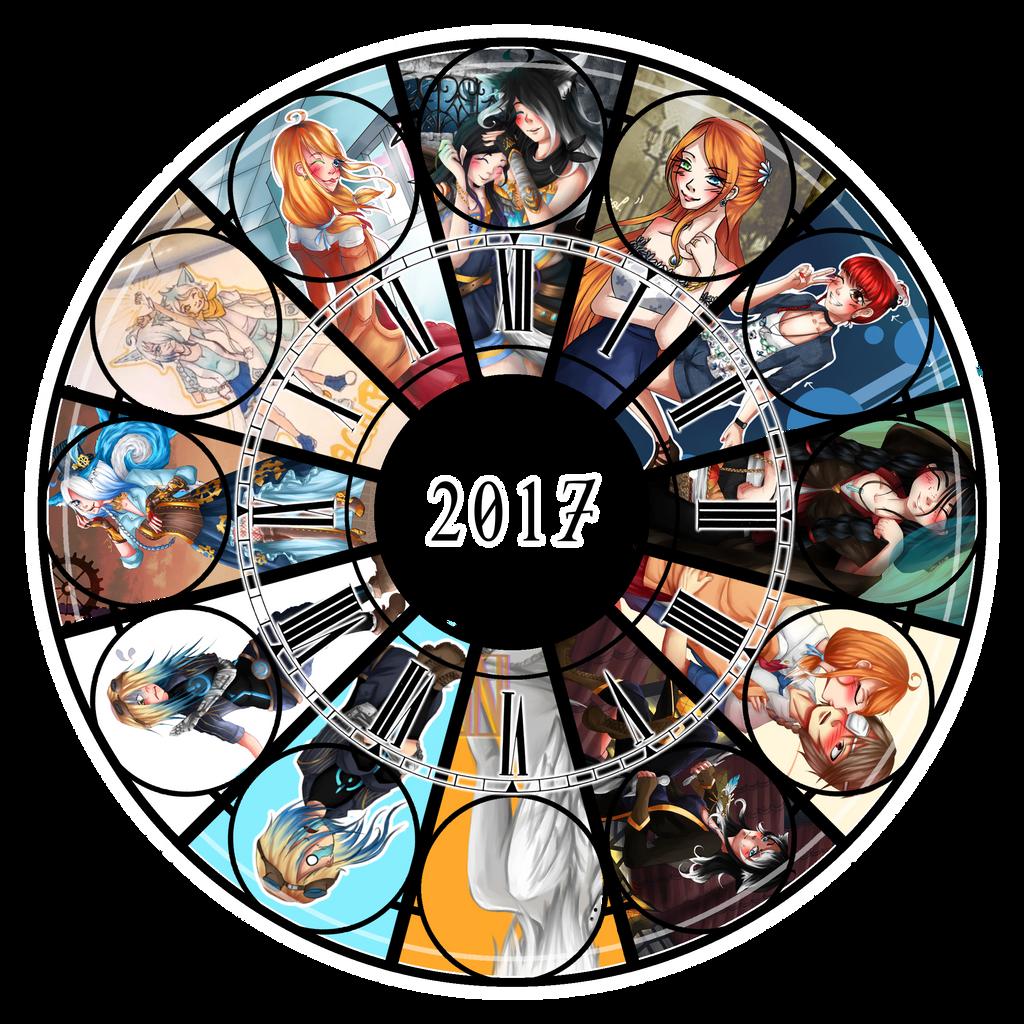 2017 summary of art by AriaPN
