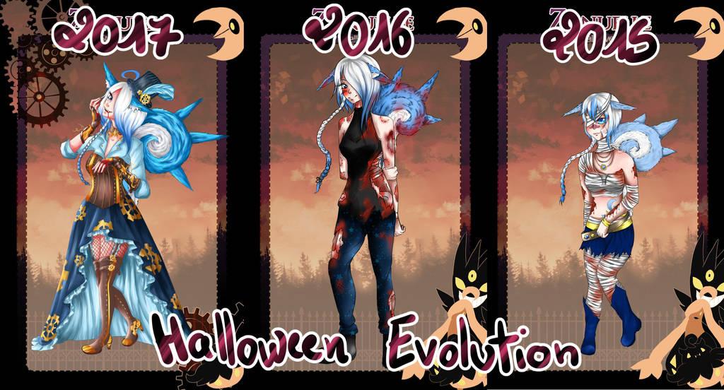 [Zanu] Chii - HalloweenEvolution by AriaPN