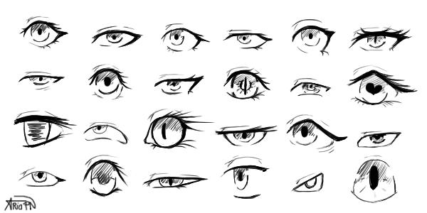 Practice - Eyes #1 by AriaPN