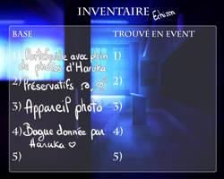 [Seika] Inventaire - Echizen by AriaPN