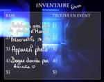 [Seika] Inventaire - Echizen