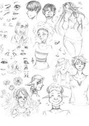 Sketch - Concepts Arts - 001 by AriaPN