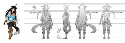 [Ezreel] Seren - Character Sheet