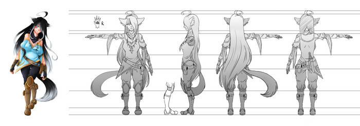 [Ezreel] Seren - Character Sheet by AriaPN