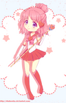 CP: Sailor Cupid + speed paint by Rikuharuka