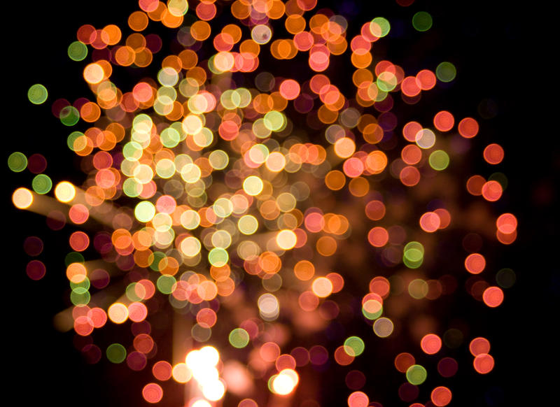 Fireworks Bokeh by bamhugbug