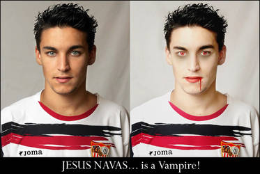 Jesus Navas is a Vampire