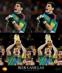 Iker Casillas Action