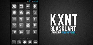Glasklart Go Launcher Ex Theme
