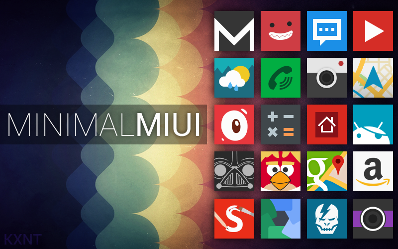 Minimal MIUI Go / Apex / Nova Theme Update by kantbstopped519