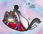 Meowtreal Canadiens : #40 Joel Armewia by calicokatt