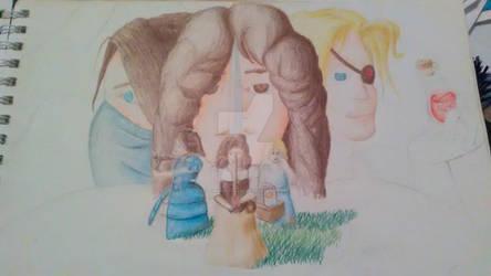 Unfinished Sketch: The D'Sagri Sisters