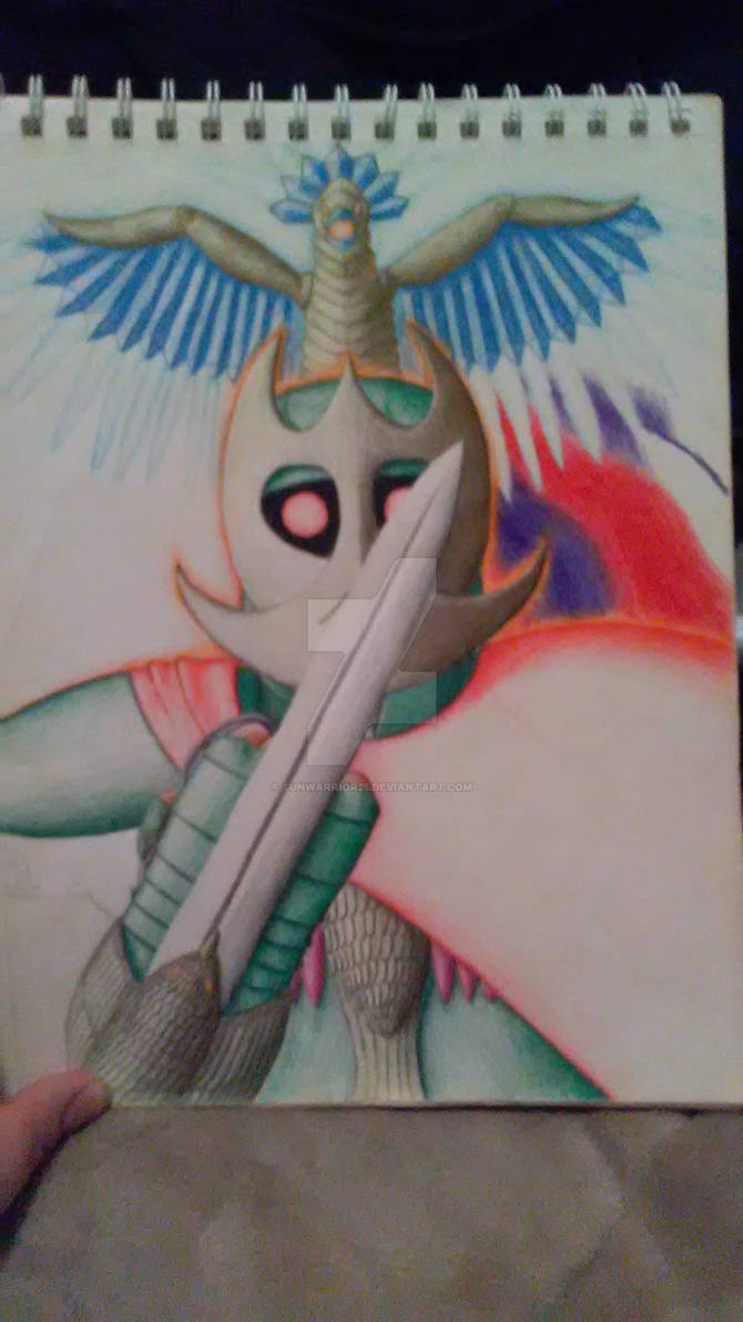 Unfinished Redraw: Cold Phoenix Knight