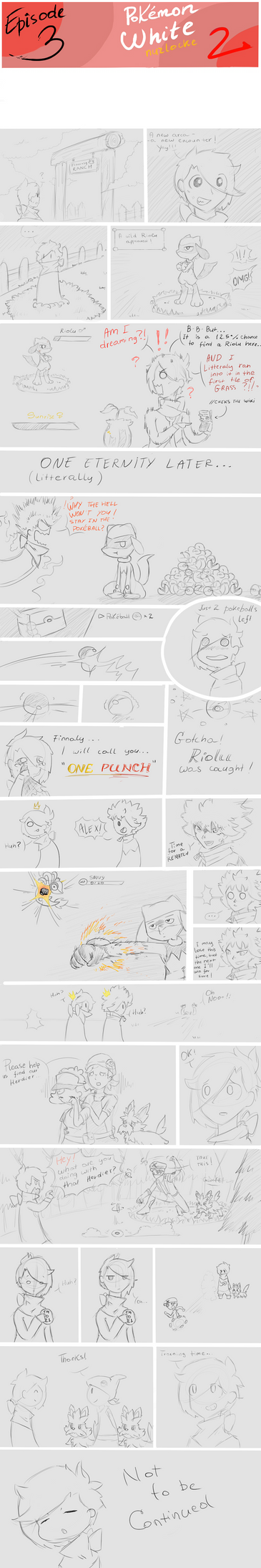 Pokemon nuzlocke ep 3 by ChocoDoze