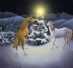 Equine Secret Santa '10 by ShylaBlu