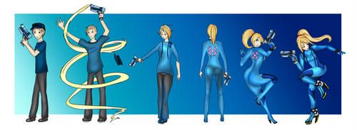 Janus into Samus TG sequence by luxianne by JanusDaDefender