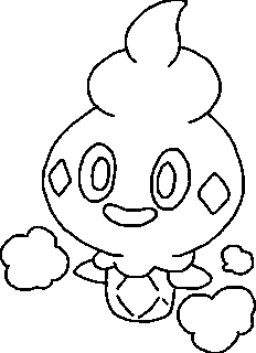pokemon litwick coloring pages - photo#15