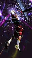 basketball by monochromatt