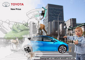 Mock ad campaign for Toyota by monochromatt