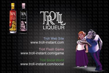 Troll Instant Business Card by trollliquor
