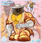 [CLOSE] Adoptable - Beehiveman + bara bees by Ano-Lantern