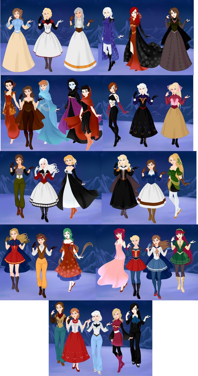 Castlevania (Snow Queen) by MissNessarose