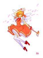 Commission of Sakura Card Captor by AmeliaVidal