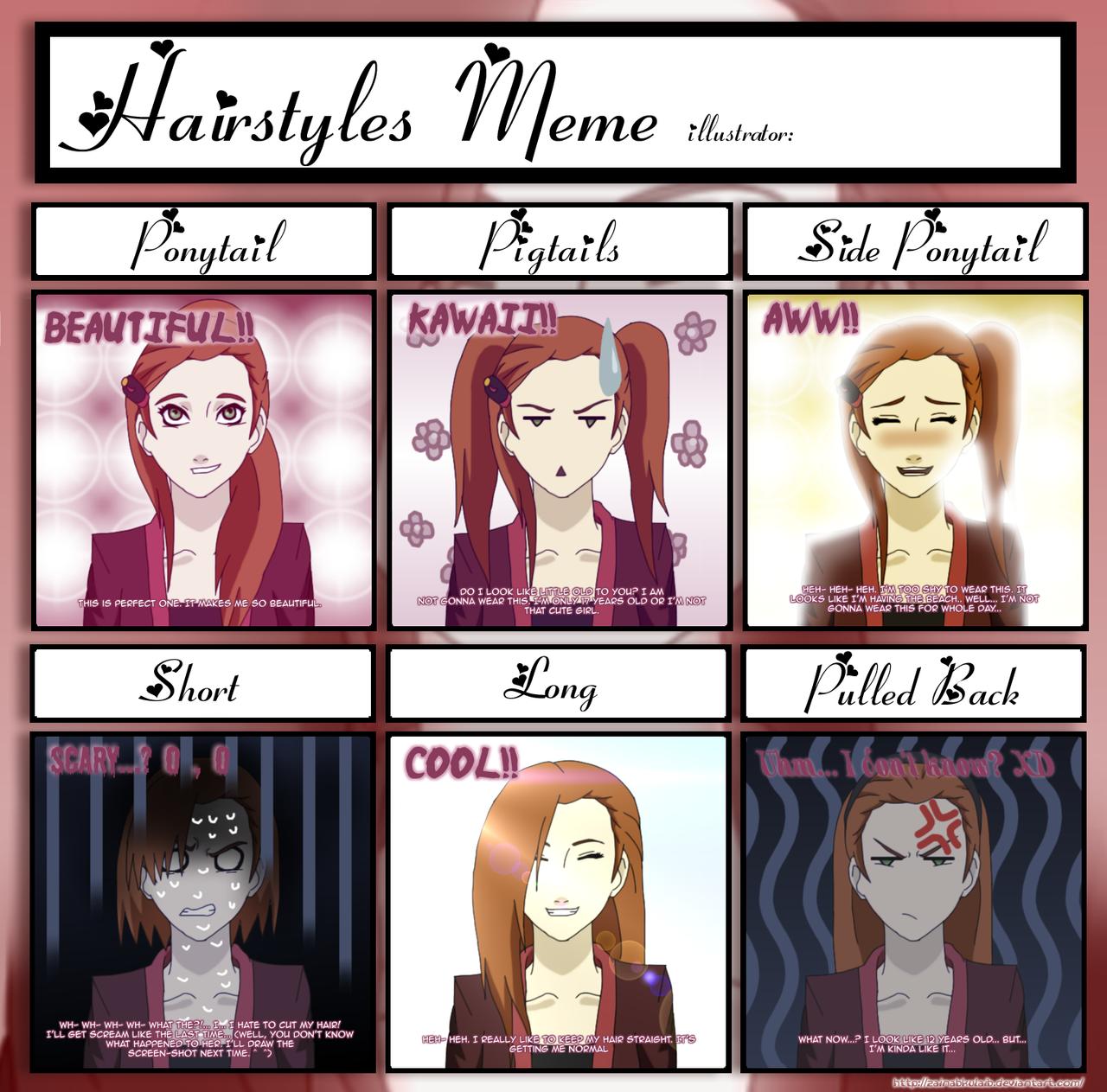 Hairstyle Meme Name