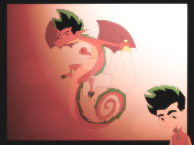 American Dragon Jake Long 2 by ZainabKulaib
