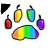 Rainbow Cursor (FOR ME) by Furs2Draw