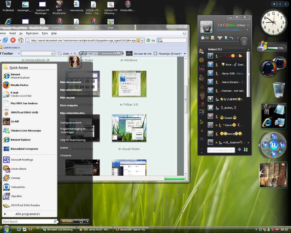 Vista Deskopt by joshoon