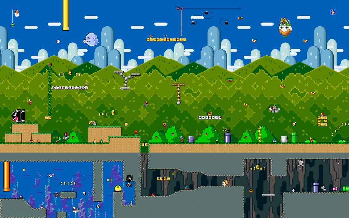Super Mario World Wallpaper By Karlik1985 On DeviantArt