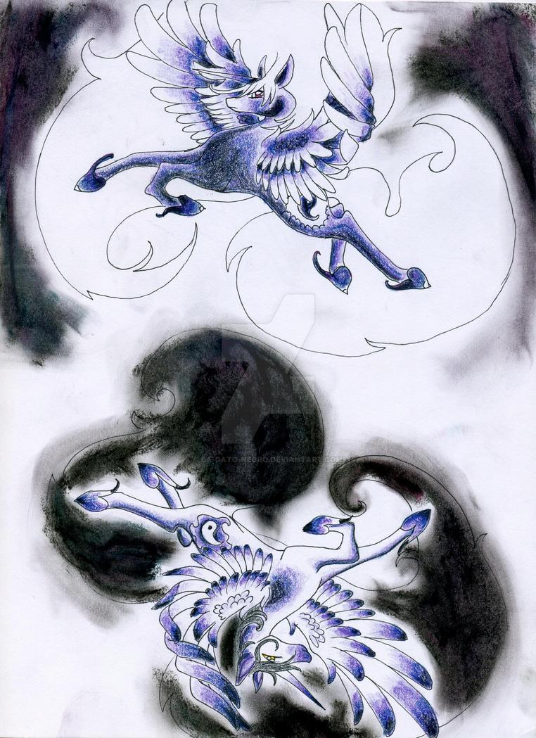 Princess Dao and Tao by La-gato-negro