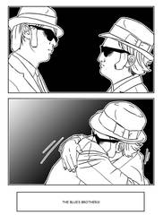 The Blues Brothers 009 by Shikalee