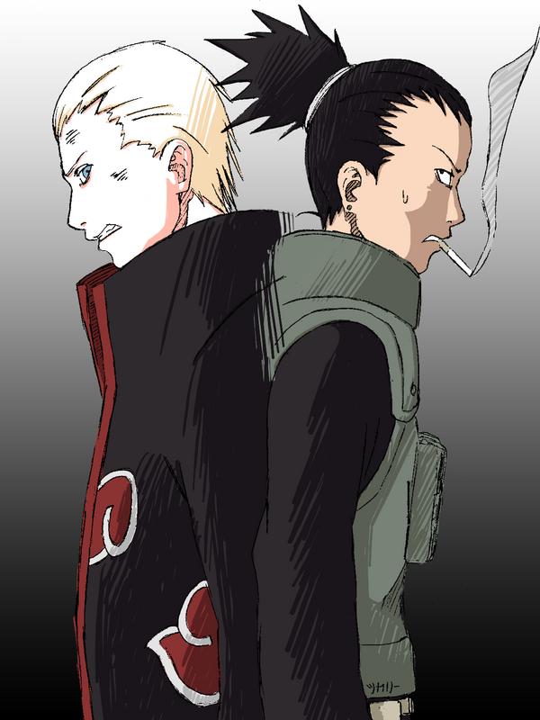 Hidan VS Shikamaru by Shikalee
