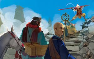 Journey to the West by gavi-gavi