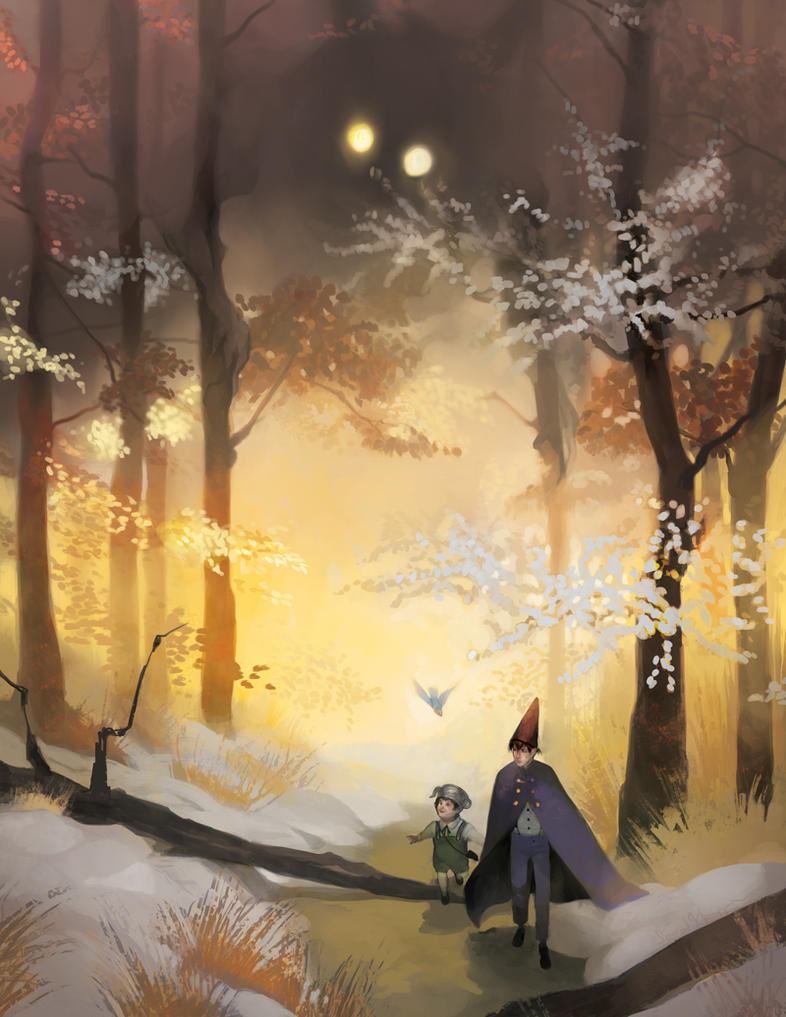 Over The Wall And Through The Woods By Gavi Gavi On Deviantart