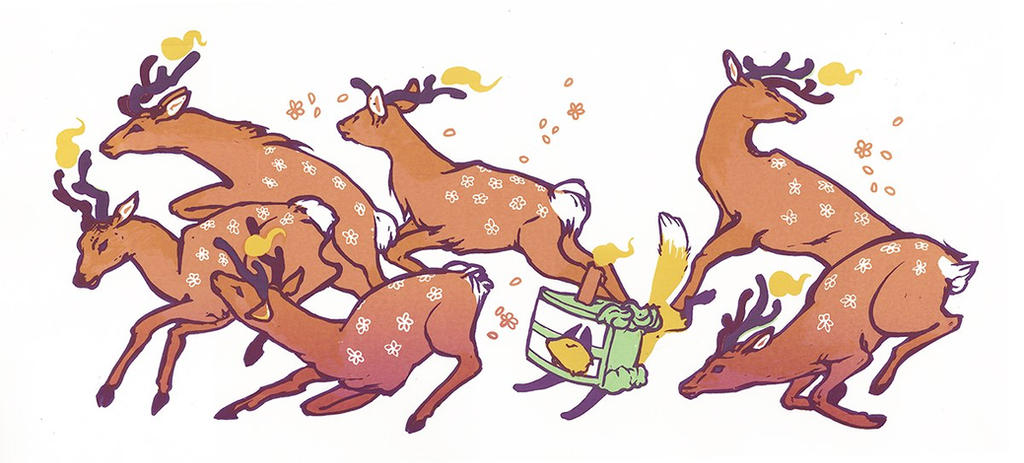Dessert Deer by gavi-gavi