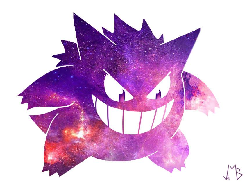 Pokemon Fanart Gengar By Vinimaicol On Deviantart