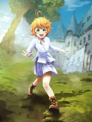 Emma of The Promise Neverland