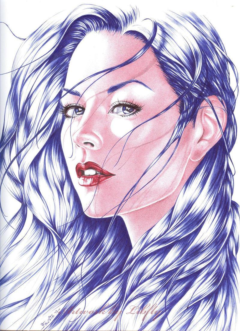 ballpoint pen art black - photo #10