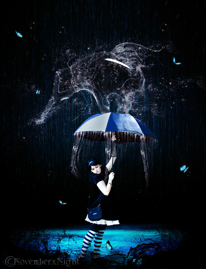 Water Girl by NovemberxNight