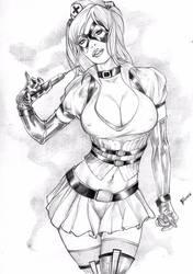 Harley Quinn by Fagneer