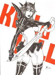 Ryuko by Fagneer