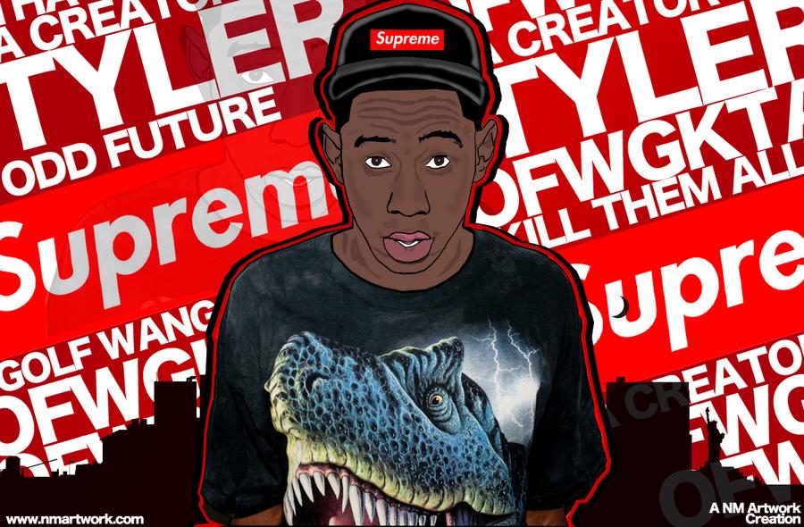 Tyler The Creator Vector Wallpaper by NikoMardones on ...