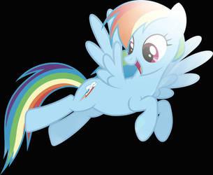 Rainbow Dash by TheBronyRailfan