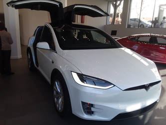 Tesla Model X P100/100D by TheBronyRailfan