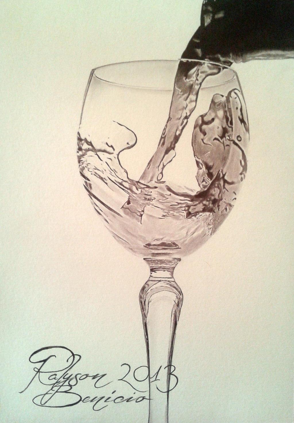 Glass Of Wine by RalysonB